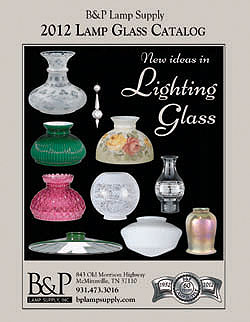 NEW!! Glass Lamp Shades Catalog