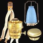 Superior Oil And Kerosene Lamp Burners. Aladdin Brand Parts