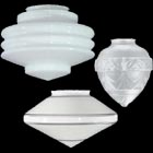 Art Deco Style Glass Lamp Shades