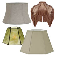 Bridge and UNO Floor Lamp Shades