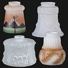 Bridge Arm Style Glass Lamp Shades