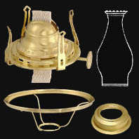 Antique Oil Lamp Parts and Kerosene Lamp Parts and Accessories