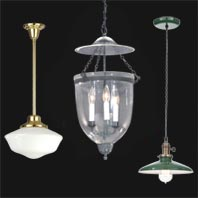 Hall Lanterns, Hanging Lamps, & Wall Lamps
