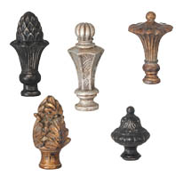 Big and Bold! Classic Style Decorative Finials