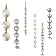 Crystal chandelier body parts bp lamp supply crystal bead chains and chandelier chains aloadofball Image collections