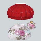 Dome Style Glass Lamp Shades