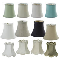 Chandelier Shades and Miniature Fabric Shades