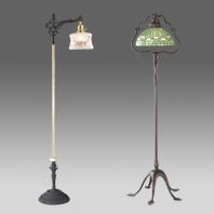 Hall lanterns floor and table lamps sconces and fixtures bp antique floor lamps aloadofball Images