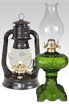 Complete Kerosene Oil Lamps