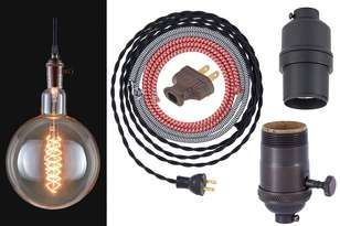 Urban and Vintage Style Light Bulbs and Electrical Parts