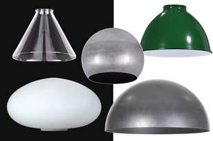 Modern and Industrial Style Lamp Shades