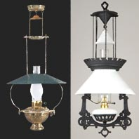 Hanging Oil Lamps Amp Hall Lanterns B Amp P Lamp Supply