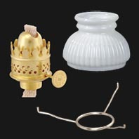 Miniature Oil Lamp Parts