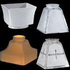 Mission Style Glass Lamp Shades