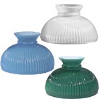 Ribbed Style Student Glass Lamp Shades