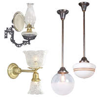 Hall Lanterns, Floor and Table Lamps