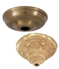 Decorative Ceiling Canopies  sc 1 st  Bu0026P L& Supply & Ceiling Canopies u0026 Back Plates | Bu0026P Lamp Supply