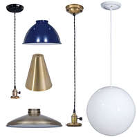 Industrial & Mid-Century Modern Lamp Parts & Lighting