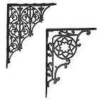 Heavy Cast Iron Shelf Brackets