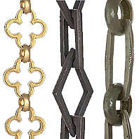 Decorative Lamp Chain For Chandeliers & Swag Chain Fixtures