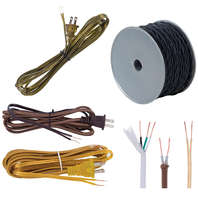 Lamp Cord Sets, Spool Cord, Rayon, Cotton, & Specialty