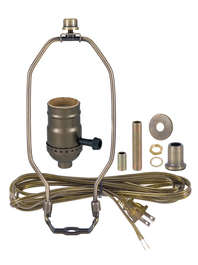 Lamp Making Supplies and Lamp Wiring Kits