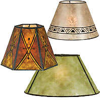 Mica Lamp Shades