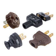 Lamp Cord Plugs & Small Appliance Electrical Cord Plugs