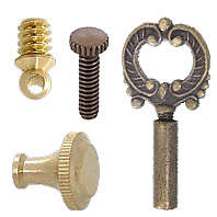 Screws, Thumb Screws, Lamp Key, Key Extensions