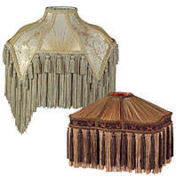 Fringed Lamp Shades and Fringe for Lamp Shades