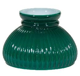 "6"" Dark Green Rib Shade"