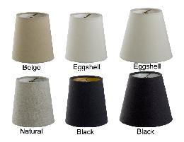 Chandelier Shade Mini Empire Hardback Fine Linen