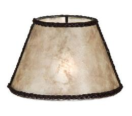 Parchment Mica Chandelier Shade Mini Empire