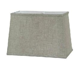 Natural Retro Rectangle- Fine Linen