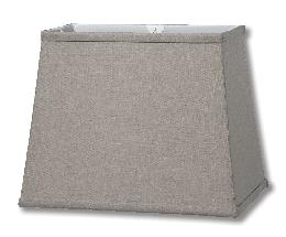 Field Stone Retro Rectangle Fine Linen Softback Shade