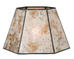 Onyx Color Hexagon Style Mica Lampshade