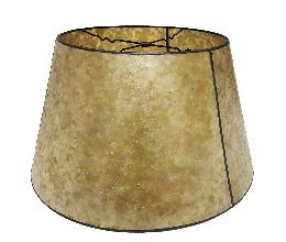 Golden Mica Empire Style Floor Lamp Shade