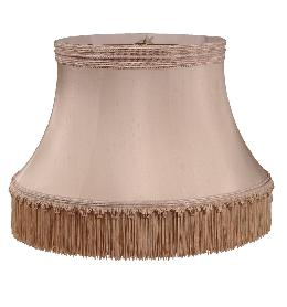 Floor Lamp Shallow Drum Shade - 100% Pure Silk