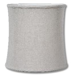 Natural Color Linen Deep Drum Softback Shade