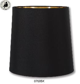 Black Color Tapered Deep Drum Lamp Shades