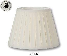 English Box Pleat style Softback Shades, Eggshell Color