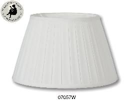 English Box Pleat style Softback Shades, Off White Color