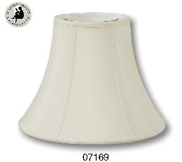 Eggshell Color Deluxe Bell Lamp Shades