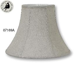 Natural Color Deluxe Bell Lamp Shades, 100% Fine Linen