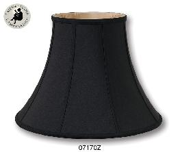 Black Color Deluxe Bell Lamp Shades