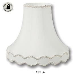 Off White Color, Deluxe Gallery Bell Lamp Shades