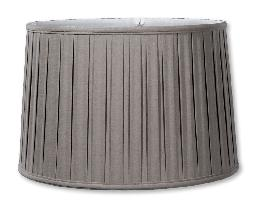 Field Stone Linen Drum Box Pleat Softback Shades
