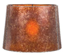 Antique Amber Deep Drum Mica Shade