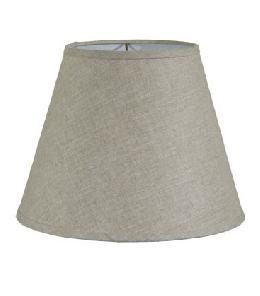 Natural Linen Empire Style Hardback Lampshades