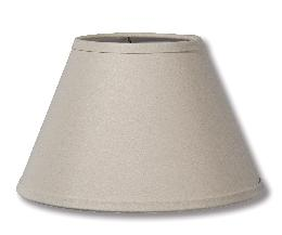 Beige Linen Empire Hardback Shade